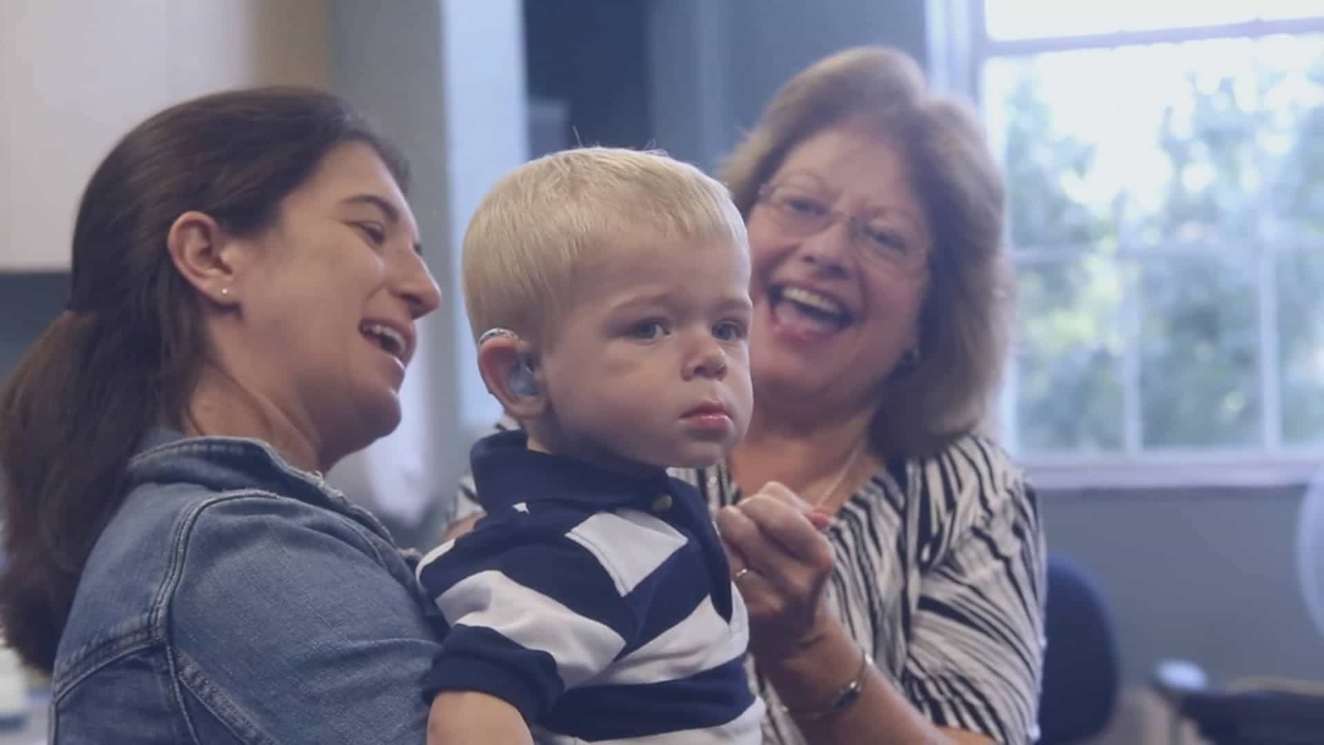 Video of a Cochlear Implant Activation